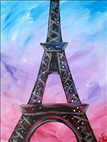 No School!  It's Time to Paint!  Pretty in Paris!
