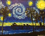 Starry Night Over Venice Pier