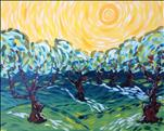 Van Gogh Celebration-Olive Trees-Open To All