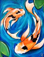 Swimming Koi