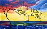 Public Class ~ Couples or Paint one Rainbow Whimsy