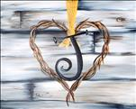 PUBLIC: Rustic Heart! *Personalize It*