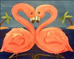 *NEW!* Fancy Flamingos (ALL AGES! Singles & Duets)