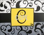 Paisley Monogram and Name ($35)