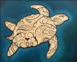 Family Day - Paisley Sea Turtle (Pick Colors)