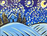 Kids Paint - Starry Night for Kids
