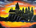 **KIDZ CAMP**  Sunset over the Wizard's Castle