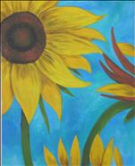 OR Sunflower on Blue for example