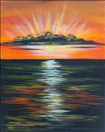 **New Art** Gulf Sunset!