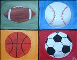 Paint Your Fave Hobbies/Sports!  (ALL AGES!)