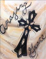 **New Art** Amazing Grace Cross