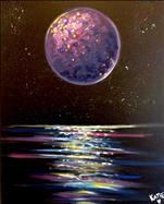 **New Art** Galactic Moon View!