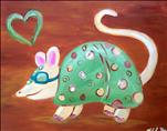 Kid's Class- Alex The Armadillo