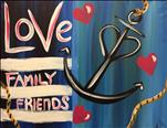 COFFEE & CANVAS: Love Anchor $5 OFF