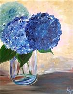 NEW ART Hydrangea Blues