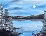 Alaskan Night 16X20 NEW ART!