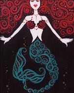 Art Deco Mermaid (Personalize!)