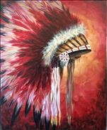 Feather Headdress - Choose Your Color