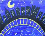 Kids Starry Night Over Pittsburgh