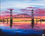 Weekend WINEdown! Sunset Over Cape Fear Bridge