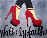 Stencil Special - Walk By Faith - $10 Off