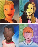 Pop Art Portrait- Family: Pick a person to paint!