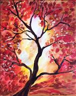 PAINTING CHANGE *NEW ART* Zen Tree in Fall