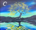 *$25 Coffee & Canvas* Tree Under the Moonlight
