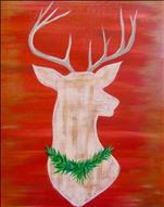 *NEW ART* Rustic Reindeer