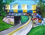 Graffiti Bridge-Single or Couples-Personalize It!