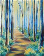 Forest Sunlight *$25 Coffee & Canvas*