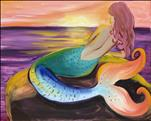 Colorful Mermaid  Manic Monday  $35