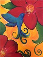 New Art! Hummingbird in Flight
