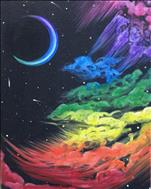 Rainbow Nebulae 16X20 NEW ART! 14+