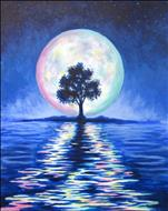 Colors of the Moon Painting