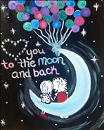 **KIDS AND KANVAS** To the Moon and Back