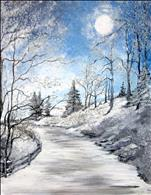 Beautifully Frozen - 3 Hour 16X20 NEW ART!