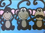 KIDS CAMP: Three Monkeys