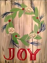 Christmas Joy Wreath *Knox Blocks Foundation PWAP*