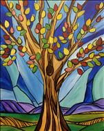 KIDS CAMP: INSPIRATIONS: Stained Glass Tree