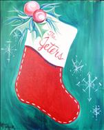 Vintage Christmas Stocking