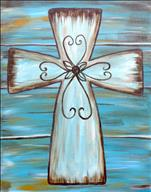 Vintage Turquoise Cross - Adults Only