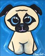 Summer Kids' Class: Pug Puppy- All Ages Welcome!