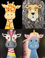 Family Class! Choose Your Own Animal to Paint!