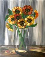 RUSTIC VINTAGE SUNFLOWERS **PUBLIC EVENT**