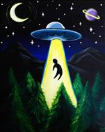 AREA 51 pARTy - Alien Abduction ~BLACK LIGHT PARTY