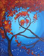 Love Tree in Fall