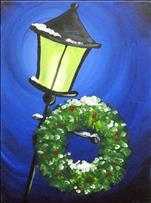 Glowing Lantern with Wreath-Public