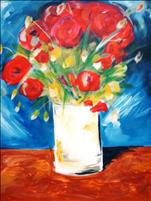 Coffee & Canvas: Van Gogh's Red Poppies