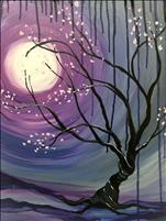 Late Night, Paint Night! Twisted Moonlight